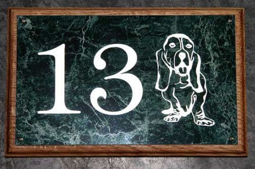 Good Value Reflective House Numbers   The Sign Maker Shop